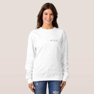 das weiße Sweatshirt der Frauen 4TEN