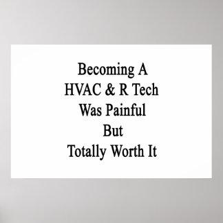 Das Werden eine Technologie HVAC R war aber total Poster