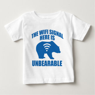 Das Wifi Signal hier ist unerträglich Baby T-shirt