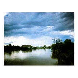 Das Winnipeg Red River Lomo redete Postkarte an
