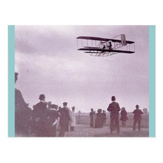 """Das wright-Material"" Wright-Flyer Postkarte"