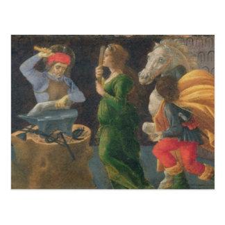 Das Wunder von St. Eligius, Predellaplatte vom Th Postkarte
