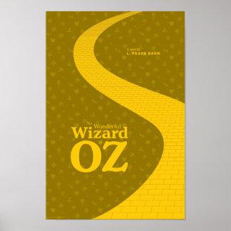 Das wunderbare literarische Plakat Zauberers von