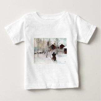 Das Yard und der Wäsche-House, Carl Larsson Baby T-shirt