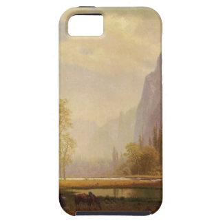 Das yosemite-Tal oben schauen - Albert Bierstadt Hülle Fürs iPhone 5