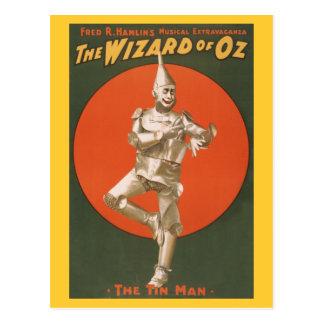 Das Zauberer- von Ozmusical - der Zinn-Mann Postkarte