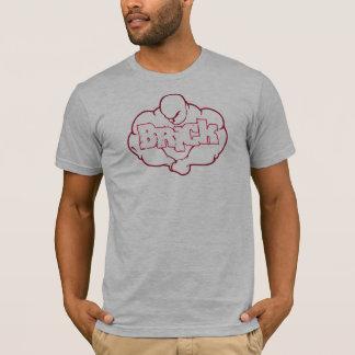 Das Ziegelstein-Bodybuildings-Teamt-stück T-Shirt