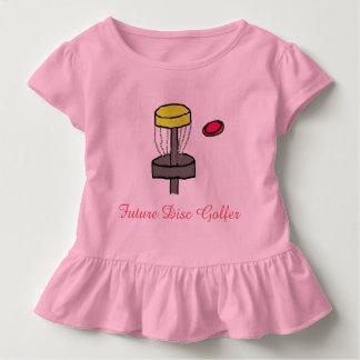 Das zukünftige Disc-Golfspielerkleinkind-T - Kleinkind T-shirt