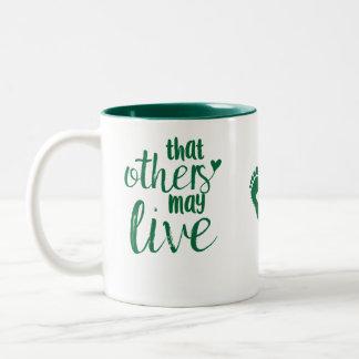 Dass andere leben können Tasse