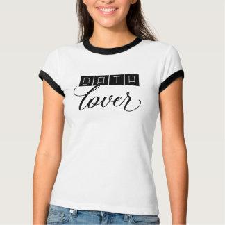 Daten-Liebhaber-T - Shirt