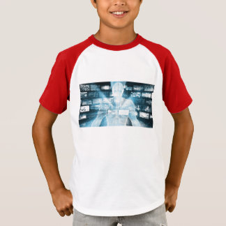 Daten-Schutz und Systems-Integrität als Konzept T-Shirt