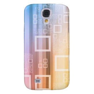 Datenstrom-Verkehrs-Konzept auf dem Internet Galaxy S4 Hülle