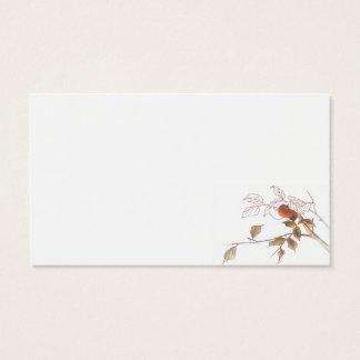 Dattelpflaume-Posten-Produkt Visitenkarte