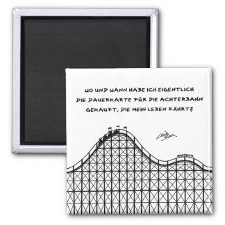 Dauerkarte Quadratischer Magnet