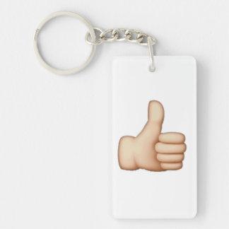 Daumen oben - Emoji Schlüsselanhänger