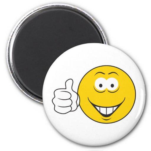 Daumen Up Smiley Magnets