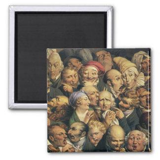 Daumiers Ausdruckmagnet Kühlschrankmagnete