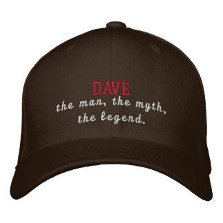 Dave die Legende Bestickte Kappe