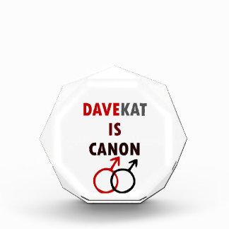 Davekat ist Canon (v1) Auszeichnung