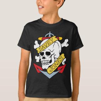 Davey Jones Tätowierung T-Shirt