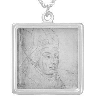 David, Bischof von Utrecht Halskette Mit Quadratischem Anhänger