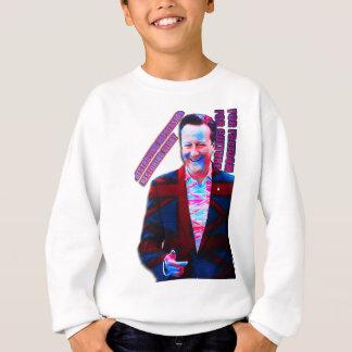 David Cameron psychedelisch Sweatshirt