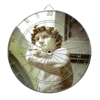 David - das ewige Bild von Florenz Dartscheibe