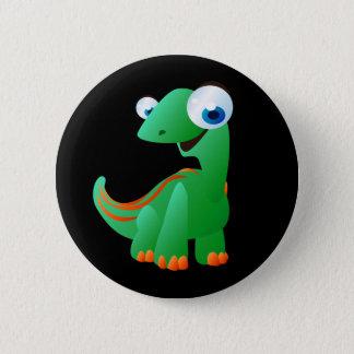 David der Dinosaurier Runder Button 5,7 Cm