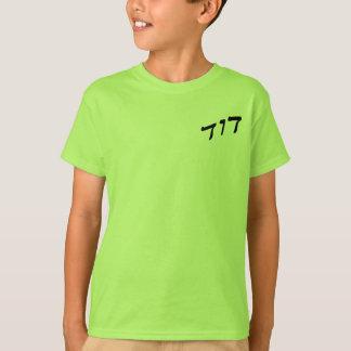 David, Dovid in der hebräischen Block-Beschriftung T-Shirt