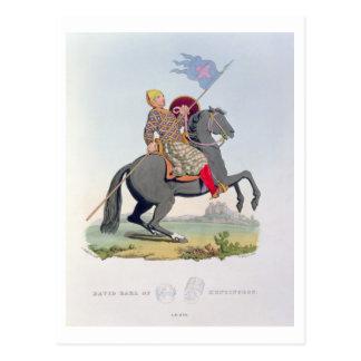 David, Graf von Huntingdon (1084-1153) 1120, Postkarte