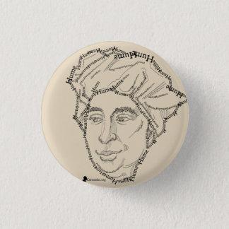 David Hume-Knopf Runder Button 2,5 Cm