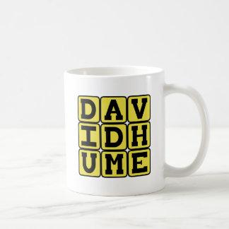 David Hume, schottischer Philosoph Kaffeetasse