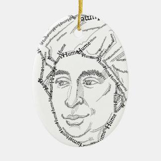 David Hume-Weihnachtsverzierung Keramik Ornament