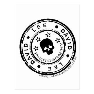David-Lee-Logo Postkarte