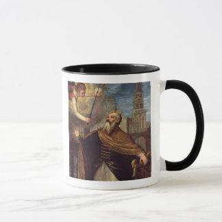 David (Öl auf Platte) Tasse