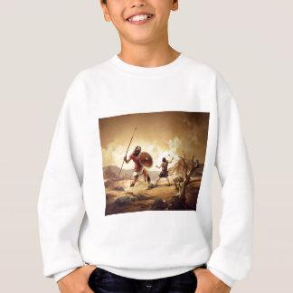 David und Goliath Sweatshirt