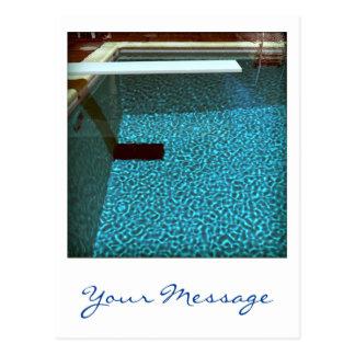 Davids Kunstpostkarte des Pool-0916 Postkarte