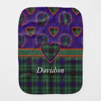 Davidson-Clan karierter schottischer Tartan Spucktuch
