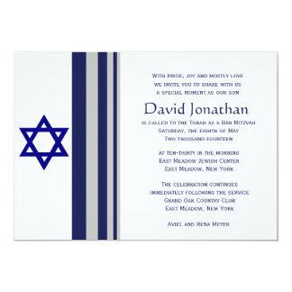 Davidsstern Bar Mitzvah Einladung