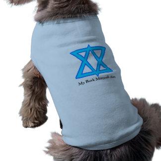 "Davidsstern ""Barke Mitzvah"" Shirt für Hunde"