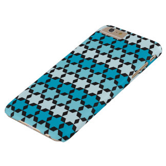 Davidsstern Blauen Telefon-Kasten Barely There iPhone 6 Plus Hülle