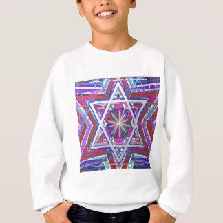 Davidsstern,… Eine Mischung von Farben Sweatshirt