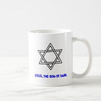 Davidsstern - Jesus, den Sohn von David Kaffeetasse