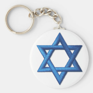 Davidsstern Jüdisch Schlüsselanhänger