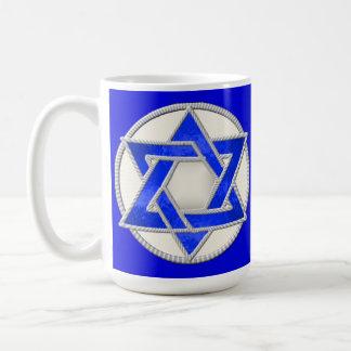 Davidsstern Kaffeetasse
