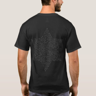 Davidsstern Mit hebräischen Buchstaben/auf T-Shirt