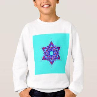 Davidsstern Mosaik Sweatshirt