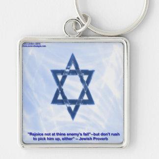 Davidsstern U. lustige jüdische Schlüsselanhänger
