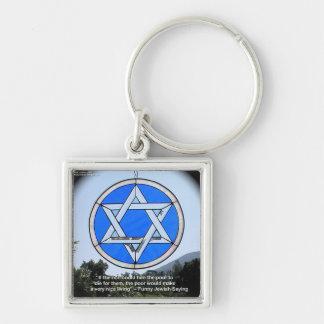 Davidsstern U. lustige jüdische Zitat-Geschenke u. Schlüsselanhänger