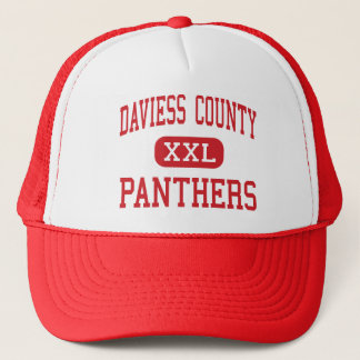 Daviess County - Panther - Mitte - Owenboro Truckerkappe